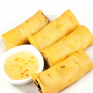 A6. Vegetable Spring Roll (6 pcs)