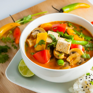 162. Vegetable Thai Curry