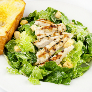 Caesar Salad Tandoori Chicken