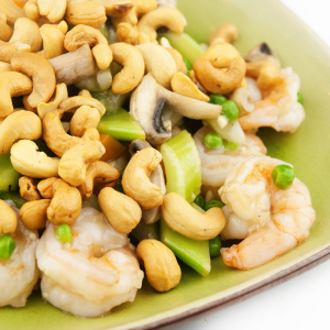 86. Shrimp with Cashew Nuts