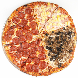 Pizza (Up to 2 Toppings)