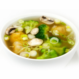 18. Fresh Shrimp & Pork Wonton Soup