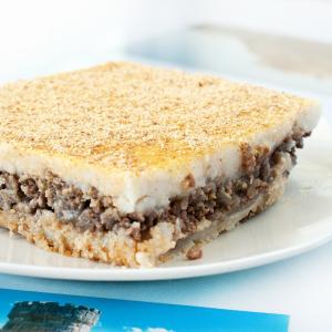 115. Beef Baked Wheaten Cake