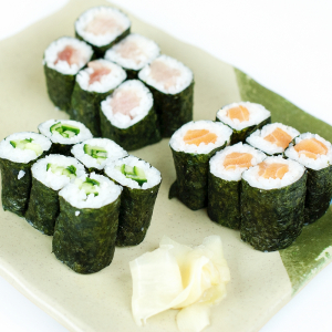 117. Vegetarian Maki Set (18pcs)