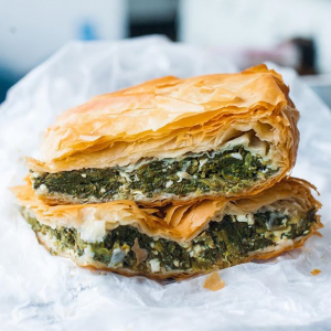 Chicken & Spinach Pie