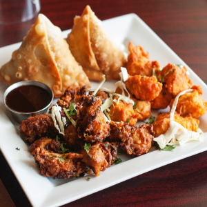 Chicken or Beef Samosas