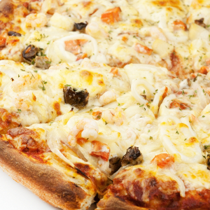 Seafood Special Pizza