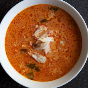 28. Mixed Seafood Soup with Tofu