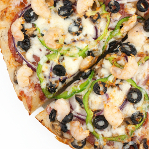 Shrimp Special Pizza