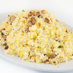 BBQ Pork Fried Rice 叉燒炒飯