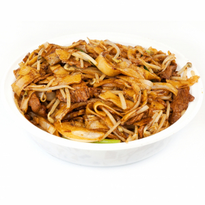 Pan Fried Beef with Vermicelli