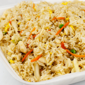 Chicken Fried Rice with Basil