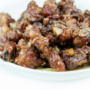 55. Honey Garlic Ribs