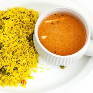 Shahi Paneer & Rice Bowl