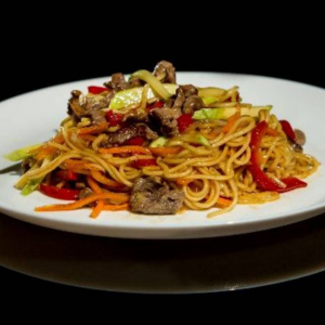 157. Chicken or Beef Thai Spicy Noodles