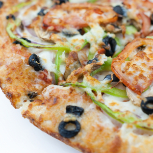 19. Pesto Veggie Pizza