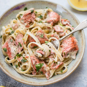 105. Salmon Scallion Noodles