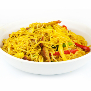 M19 Singapore Curried Rice Noodle (shrimp, pork, egg)