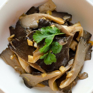 154. Chinese Mushroom and Vegetables in Oyster Sauce