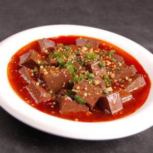27. Steamed Boiled with Chili Sauce