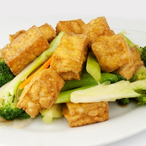 Tofu with Mixed Vegetables 什菜豆腐