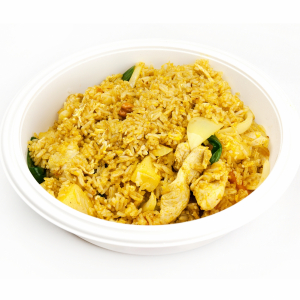 Pineapple and Chicken Fried Rice 菠萝雞粒炒飯