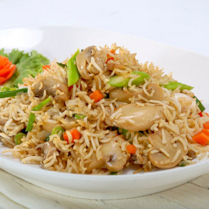 25. Mushroom Fried Rice