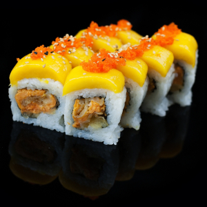 119. Mango Veggie Dragon Roll