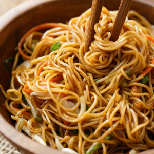 81. Thai Fried Noodles (Pad Thai) with Tamarind Sauce
