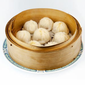 193. Steamed BBQ Pork Bun (3)