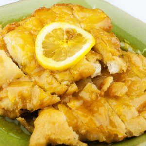 122. Breaded Lemon Chicken