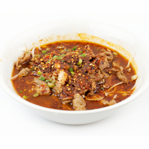 Stewed Beef with Vegetables in Chili Broth