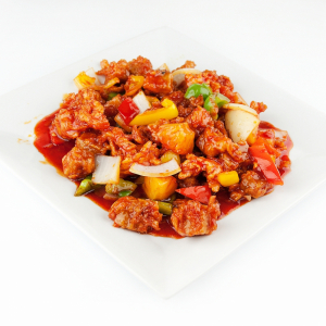 90. Vegetarian Sweet & Sour Pork