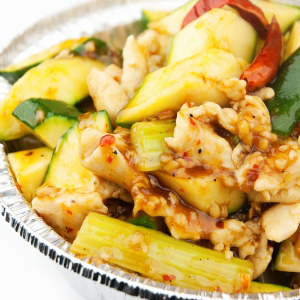 Szechuan Chicken with Vegetables