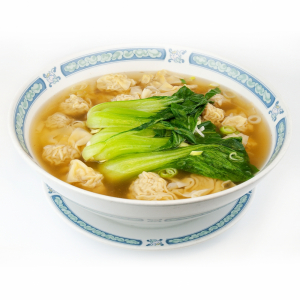 149. 沙锅馄饨鸡 Chicken Soup with Wonton and Bok-Choy
