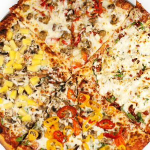 Up to 3 Toppings Pizza