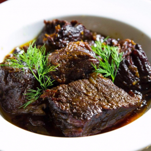 Braised Beef with Potato/Napa