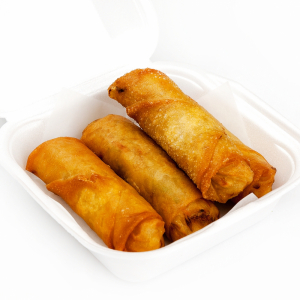 DS6. Deep Fried Vegetable Spring Rolls (4)