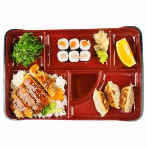 L05. Bento Box E - Gyoza Bento