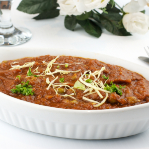 13. Eggplant Bhartha