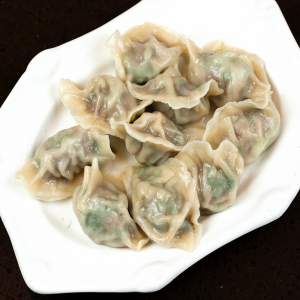 25. Pork and Green Onion Dumplings