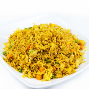 Curried Chicken Fried Rice 咖哩雞