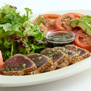 3. Spicy Sashimi (Tuna or Salmon)