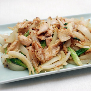 Chicken with Blackpepper and Onion
