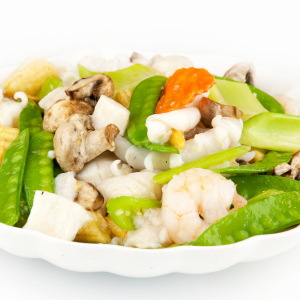 24. Mixed Seafood with Vegetables