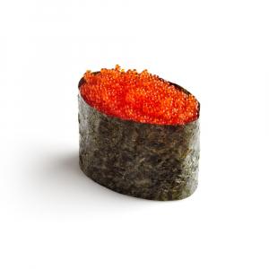 Tobiko - Flying Fish Egg Nigiri (1 pc)
