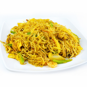132. Fried Rice Vermicelli in Singapore Style