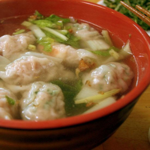 1. Shrimp Dumpling in Soup