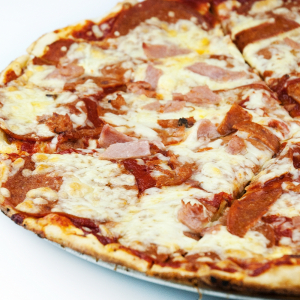 14. Meat & Spicy Pizza