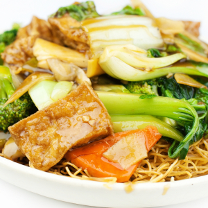 Mix Vegetable Crispy Noodle or Soft Noodle